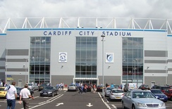 Cardiff City Stadium, the home ground of Cardiff City (association football)