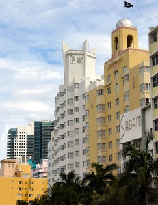 The Miami Beach Architectural District protects historic Art Deco buildings