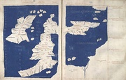 1st Map of Europe The islands of Albion amd Hibernia