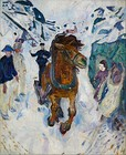 Galloping Horse, 1910–12, 148 cm × 120 cm (58 1⁄4 in × 47 1⁄4 in), Munch Museum, Oslo