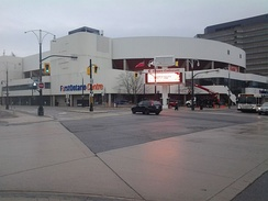 FirstOntario Centre is an indoor arena and home arena for the OHL's Hamilton Bulldogs.