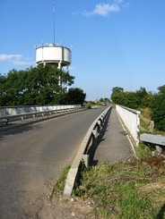 The water tower on Gorse Lane is a local landmark for drivers