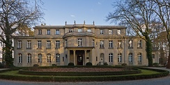 The Wannsee Conference, where the plans for Operation Reinhard and the Treblinka extermination camp were outlined, took place at this villa.