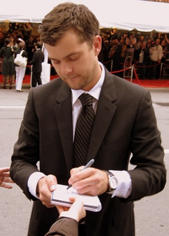 Joshua Jackson at the premiere of Bobby, Toronto International Film Festival, 2006