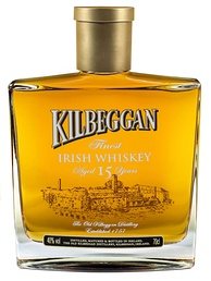 "Bottle of ""Kilbeggan Finest Irish whiskey"""