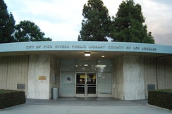 Pico Rivera Public Library, before reconstruction