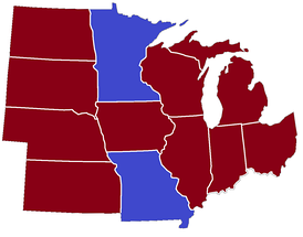 Midwestern governors 2015