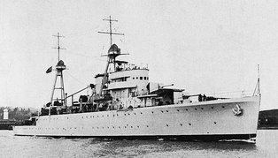 NRP Afonso de Albuquerque, one of the ships of the Portuguese Naval Program of the 1930s