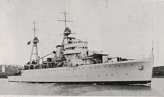 NRP Afonso de Albuquerque, one of the ships of the Portuguese Naval Program of the 1930s.
