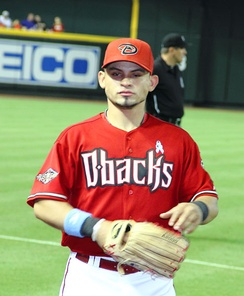 Parra during his tenure with the Arizona Diamondbacks in 2011