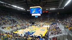2014 game between Herbalife Gran Canaria and Unicaja.