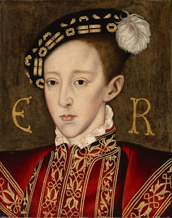 King Edward VI of England, in whose reign the reform of the Anglican Church moved in a more Protestant direction.