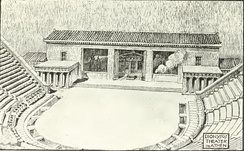Fiechter's reconstruction of the Lycurgan theatre.[45]