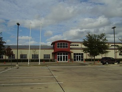 SER-Niños Charter School, a charter school in the Gulfton area of Houston, Texas