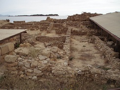 Ruins of the ancient Phoenician city of Motya.
