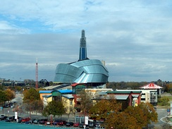 Located in Winnipeg, the Canadian Museum for Human Rights is a national museum of Canada.