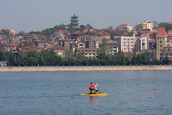 Qingdao retains many buildings with a German architectural style