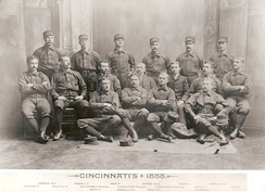 Portrait of Cincinnati Reds players, 1888