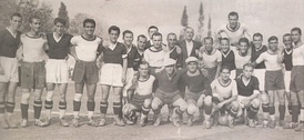 Players of AEK and PAOK, 1939