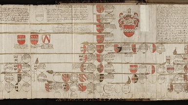 Family trees are an age-old phenomenon. This example dates from the sixteenth century.[4]
