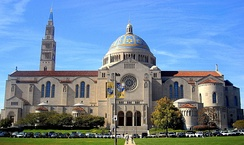 The Basilica of the National Shrine of the Immaculate Conception in Washington, D.C. is the largest Catholic church in the United States.