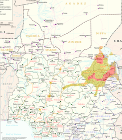 Boko Haram in the Lake Chad Region, as of 14 March 2015