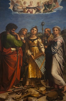 The Ecstasy of St. Cecilia by Raphael