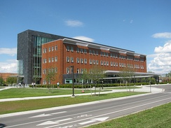 Education and Human Services Building at Central Michigan University
