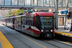 Calgary's CTrain system is the second-busiest in North America, after Guadalajara and ahead of Toronto.