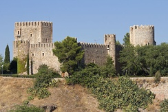 Castle of San Servando, formerly occupied by the Knights Templar