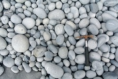 Cobbles on a beach