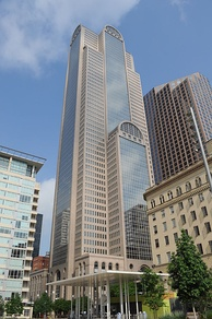 Comerica Bank Tower, Comerica Bank's national headquarters in Downtown Dallas