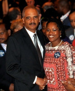 Holder at the 2016 Democratic National Convention