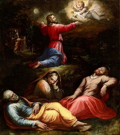 Giorgio Vasari, The Garden of Gethsemane