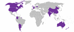 Global locations of McCain Foods' factories.