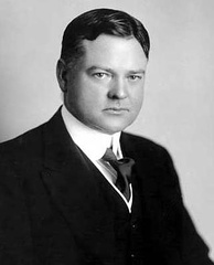 Herbert Hoover in his 30s while a mining engineer