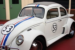 "2005 Fully Loaded version of Herbie, specifically his ""Street Race"" look"