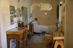 The conventual cell of Padre Pio