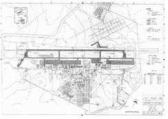 1973 map of Korat Royal Thai Air Force Base (click on map for high resolution)