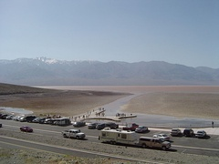Lake in Badwater Basin, Death Valley National Park