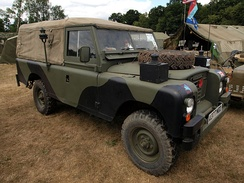 British Army, 109-inch wheelbase, series-III soft-top