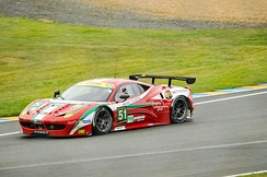 Ferrari won the 2013 FIA World Endurance Cup for GT Manufacturers