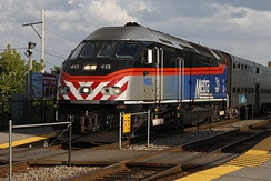 Metra MP36PH-3C locomotive #413