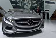 Mercedes-Benz F800. Germany maintains a large automotive industry, and is the world's third largest exporter of goods.[145]
