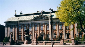The House of Nobility, seat of the Swedish nobility.
