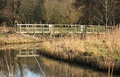 Second crossing, as channel forms, Redgrave Fen