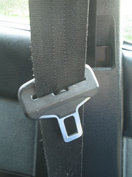 A seat belt and tongue