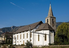 St. Catherine's church in Sierre