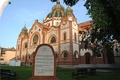 Jakab and Komor Square Synagogue in Subotica, Serbia.