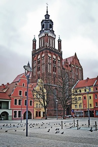 St. Mary's Church, a Gothic architecture masterpiece and Historic Monument of Poland